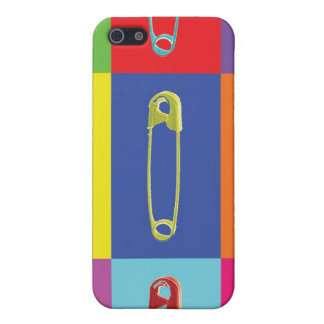Safety Pins Pop Art Case iPhone 5/5S Cases