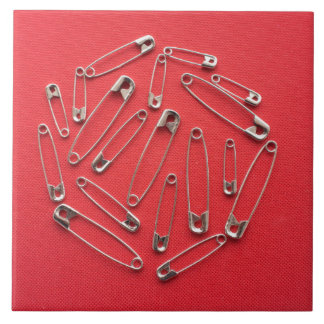 Safety-pins Tile