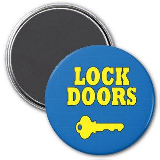 Safety Reminder Lock Doors Magnet
