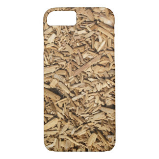 Safety Wood Chips iPhone 7 Case