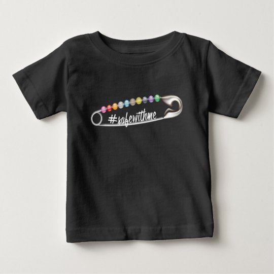#SafeWithMe Baby Dark Jersey T-Shirt