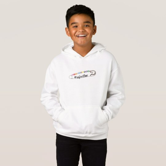 #SafeWithMe Boy's Hoodie