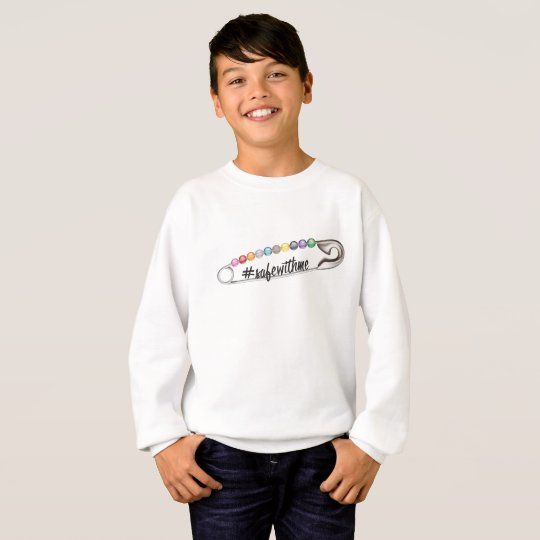 #SafeWithMe Boy's Sweatshirt
