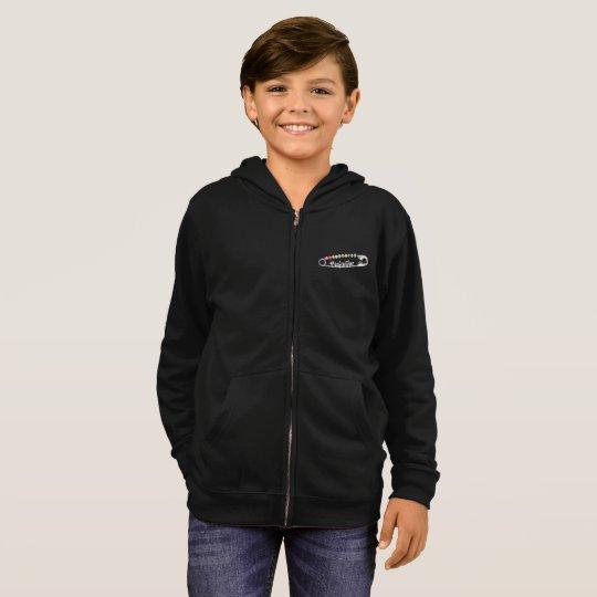 #SafeWithMe Boy's Zip Hoodie