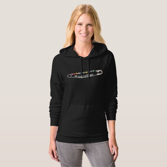 #SafeWithMe Dark Women's Fleece Pullover Hoodie