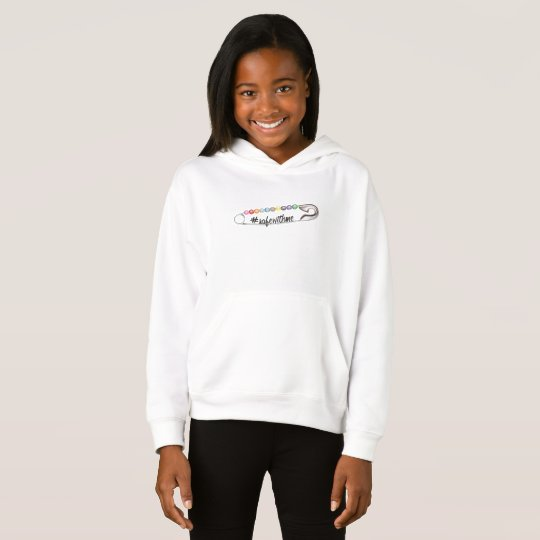 #SafeWithMe Girl's Hoodie