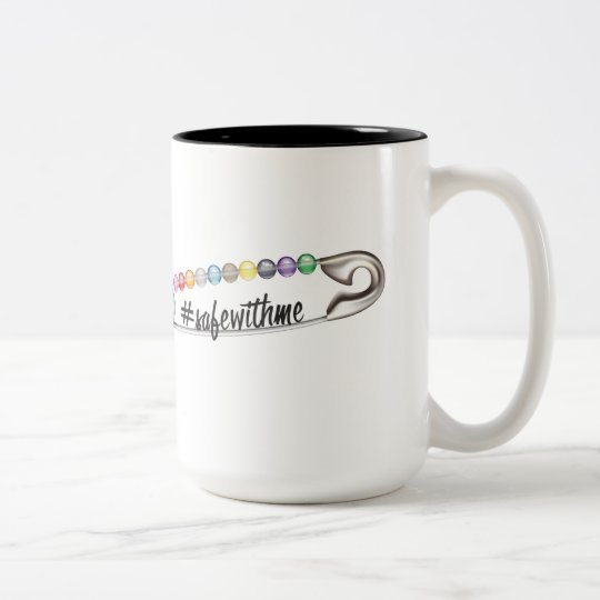 #SafeWithMe Large Mug