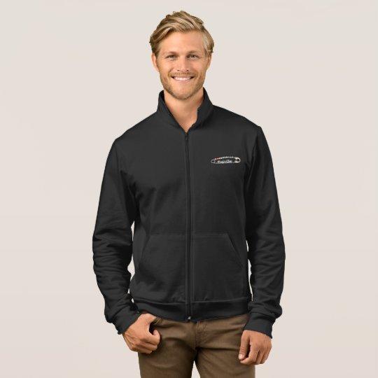 #SafeWithMe Men's Dark Fleece Zip Jogger Jacket