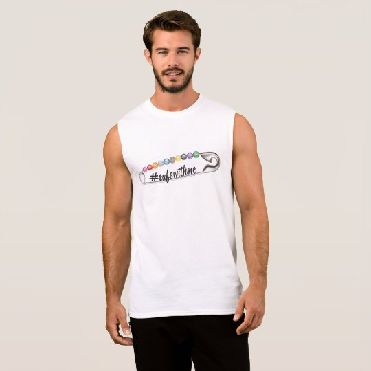 #SafeWithMe Men's Muscle Tank