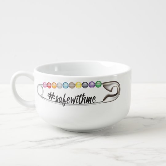 #SafeWithMe Soup Mug