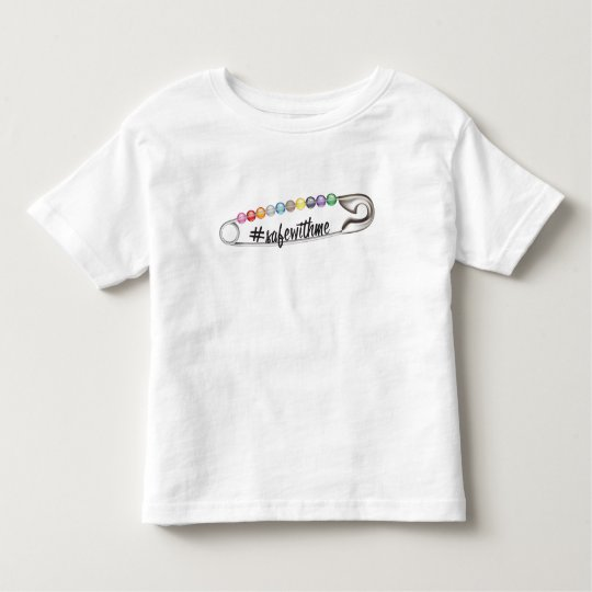 #SafeWithMe Toddler Jersey T-Shirt