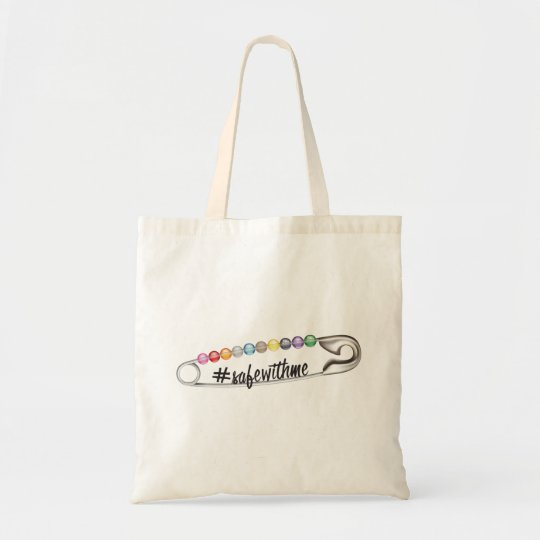 #SafeWithMe Tote Bag