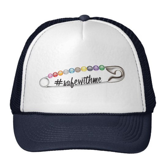 #SafeWithMe Trucker Hat