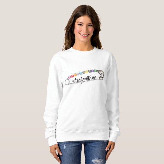 #SafeWithMe Women's Basic Sweatshirt