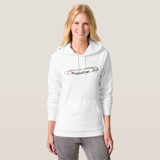 #SafeWithMe Women's Fleece Pullover Hoodie