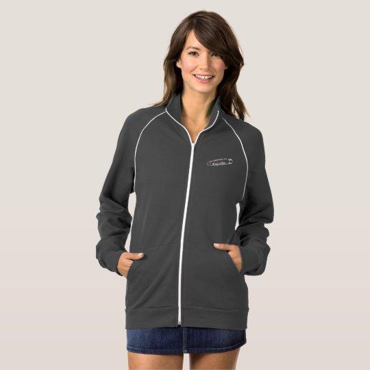 #SafeWithMe Women's Fleece Track Jacket