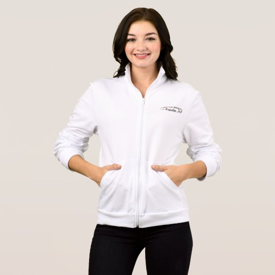 #SafeWithMe Women's Fleece Zip Jog Jacket