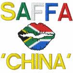 SAFFA HOWZIT CHINA Embroidered Fleece Jacket