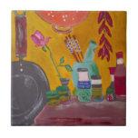 Saffron And Chillies Tile
