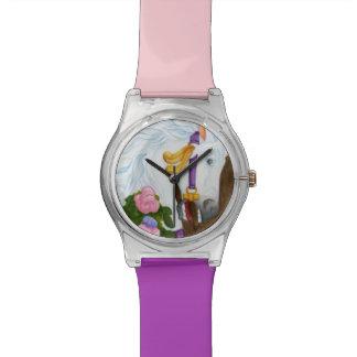 Saffron Carousel Horse Watch