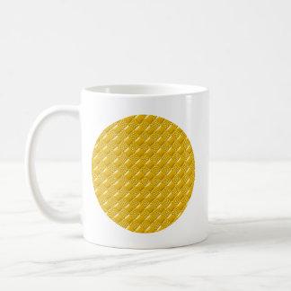 Saffron Yellow Classic White Coffee Mug