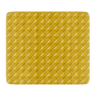 Saffron Yellow Cutting Board