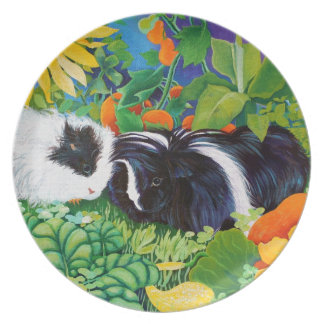 Safi and Zaria Guinea Pigs Party Plate