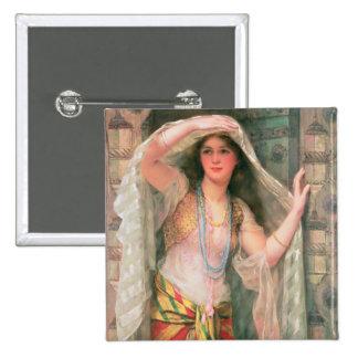 Safie, 1900 15 cm square badge