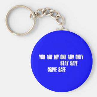 SAFTY FIRST BASIC ROUND BUTTON KEY RING