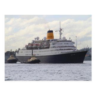 Saga Ruby cruise ship Postcard
