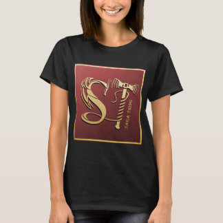 Saga Thing Dragon and Hammer Logo (Women) T-Shirt