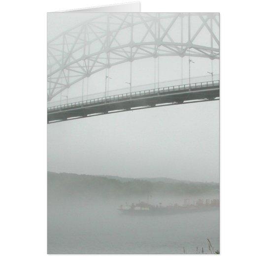 Sagamore Bridge--thinking of you Card