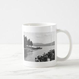Sagamore Dock Lake George 1904 Coffee Mugs