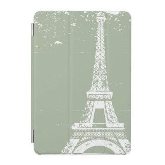 Sage Eiffel Tower iPad Mini Case iPad Mini Cover