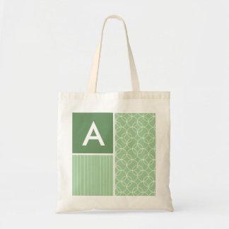 Sage Green Circles; Circle Tote Bag