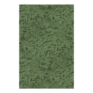 Sage Green Cork Look Wood Grain 14 Cm X 21.5 Cm Flyer