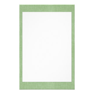 Sage Green Faux Linen Fabric Textured Background Stationery Design