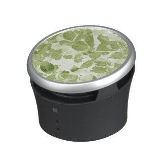 Sage Green Leaf Pattern, Vintage Inspired Bluetooth Speaker