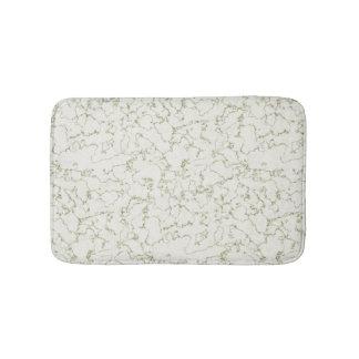 Sage Green Marble Effect bath mat