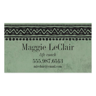 Sage Green Professional Appointments Business Card
