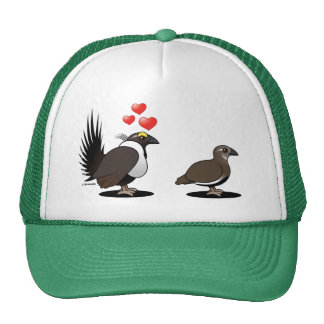 Sage Grouse Love Mesh Hat