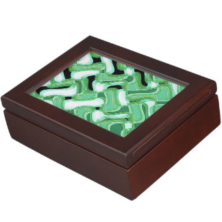Sage & Ivory Keepsake Box by Artist C.L. Brown
