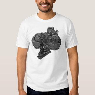 Sage Junction Band -- Water Tower & Train Design Tee Shirt