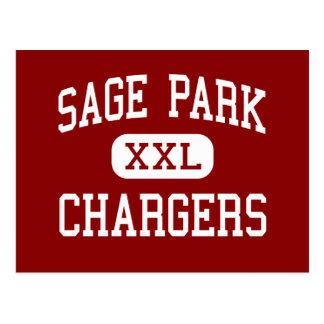Sage Park - Chargers - Middle - Windsor Postcard