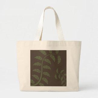 Sage Vines Canvas Bags
