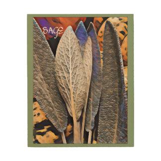 Sage Wood Wall Art