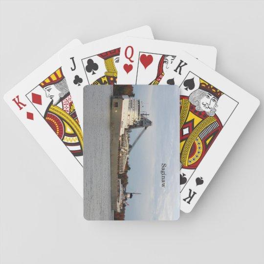 Saginaw playing cards