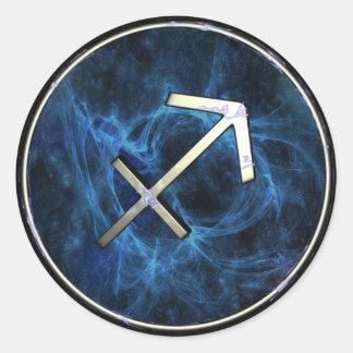 Sagitarius Round Sticker