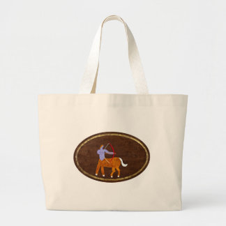 Sagittarius 2008 large tote bag