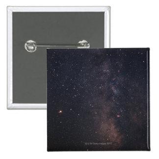 Sagittarius and Milky Way 15 Cm Square Badge